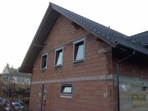 Okna Passivline Plus złoty dąb ciepły montaż +ciepłe parapety