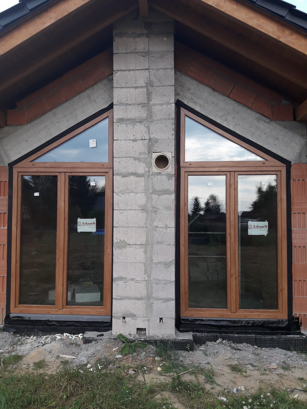 Kraków - montaż drzwi i okien