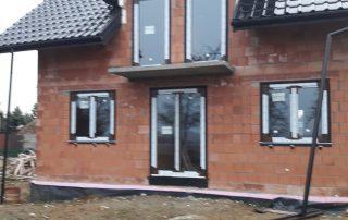Dom z oknami firmy Adams