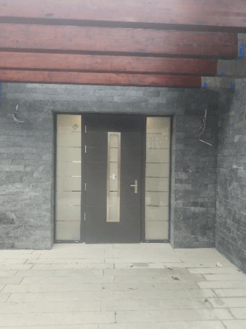 realizacja montażu - drzwi zewnętrzne Bochnia