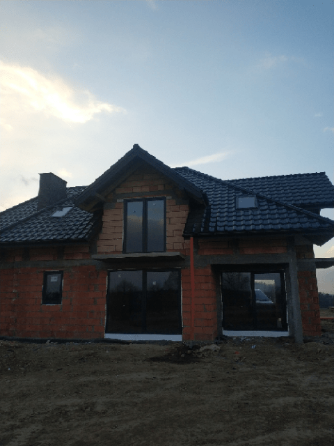 realizacja okien w domku jednorodzinnym
