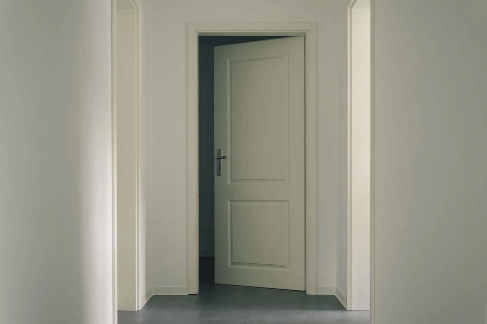 białe drzwi pokojowe pełne